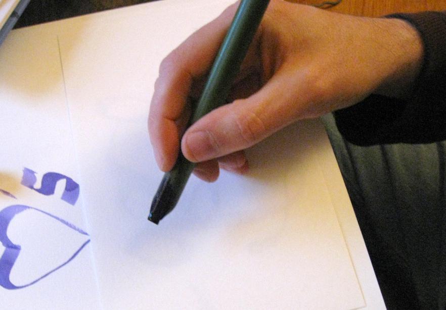 How to make a bamboo calligraphy nib pen fiction