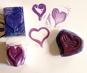 Heart Stamps
